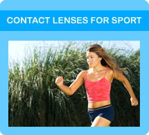 Contact lenses for sport